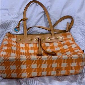 Checkerboard purse